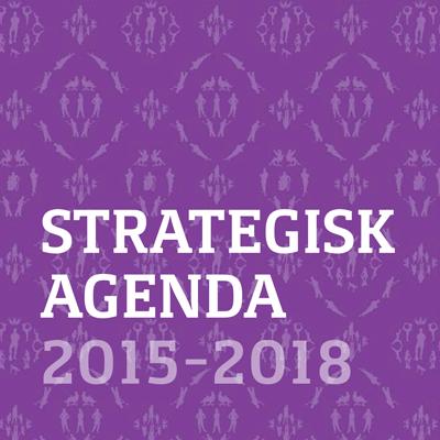 Omslag för Fortes strategiska agenda 2015-2018