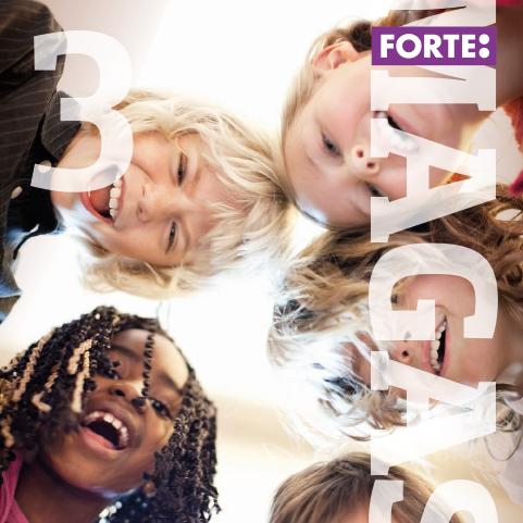 En bild på omslaget till Forte magasin 3