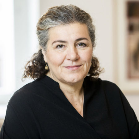 Porträttfoto på Kruna Madunic, kommunikationschef