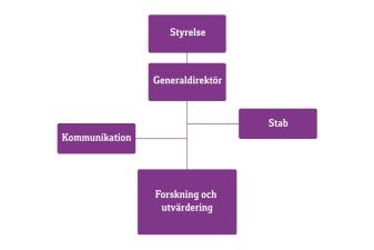 Organisationsschema över Forte
