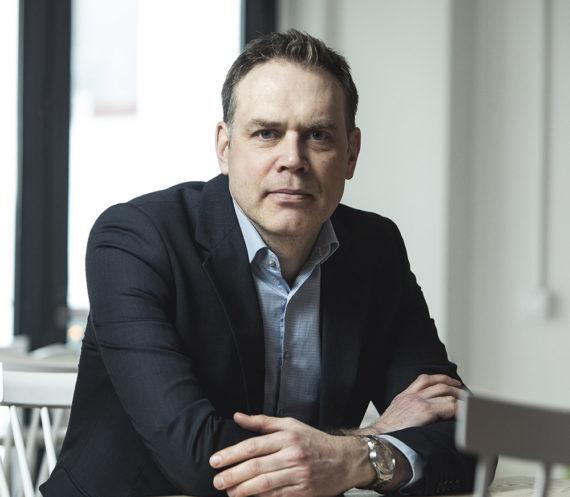 Porträttfoto på Mats Nilsson, stabschef