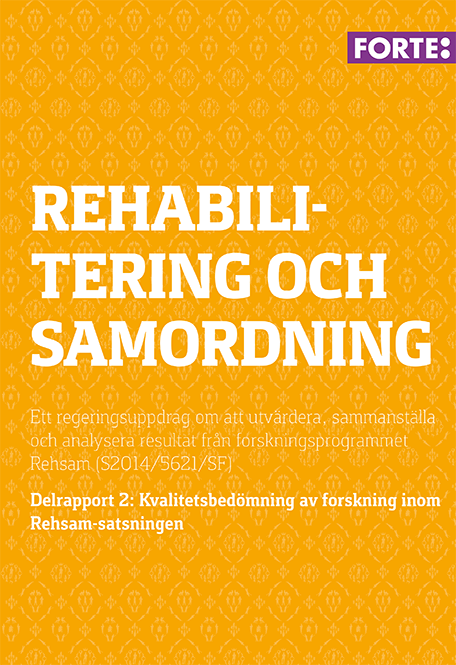 Rehabilitering och samordning – delrapport 2