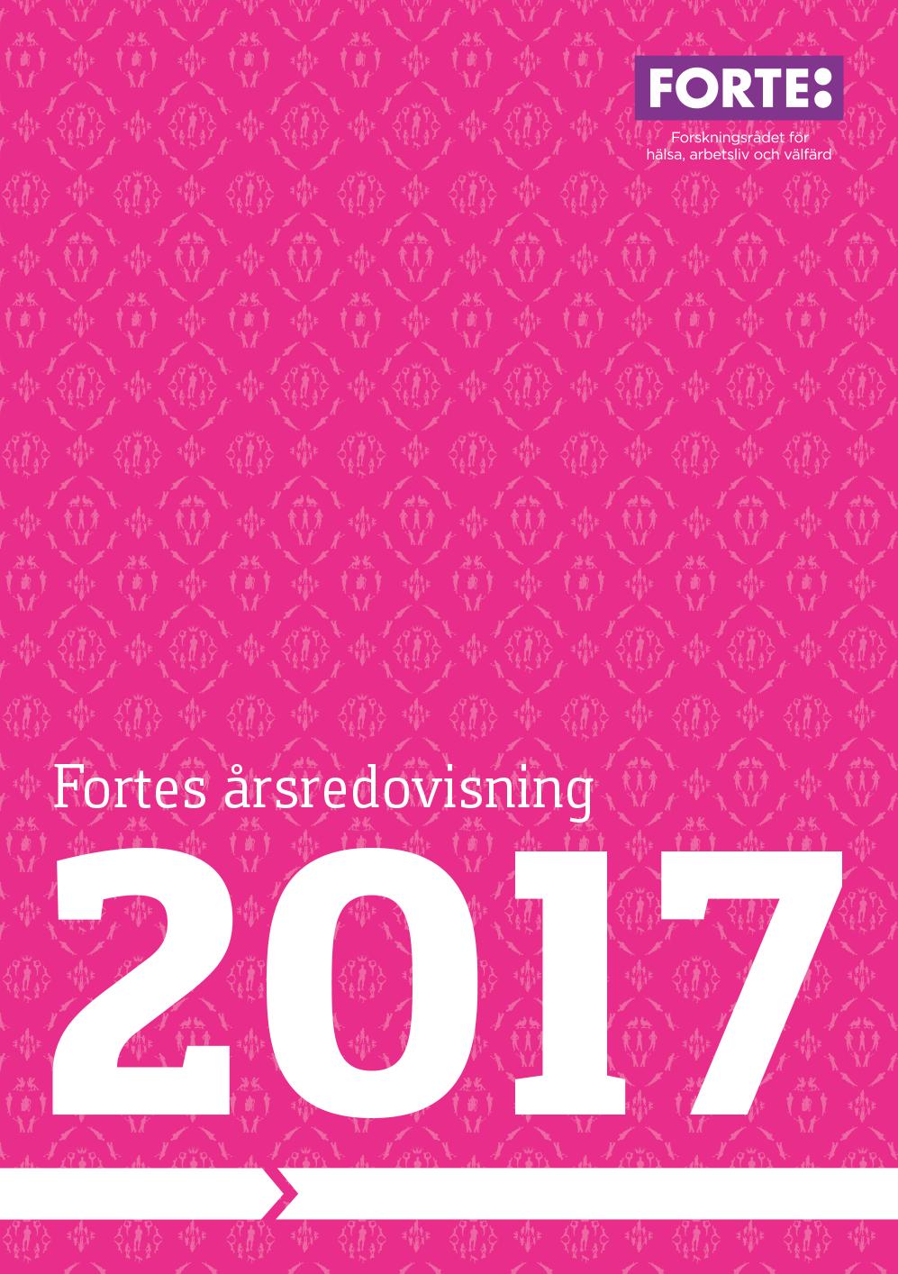 Fortes årsredovisning 2017