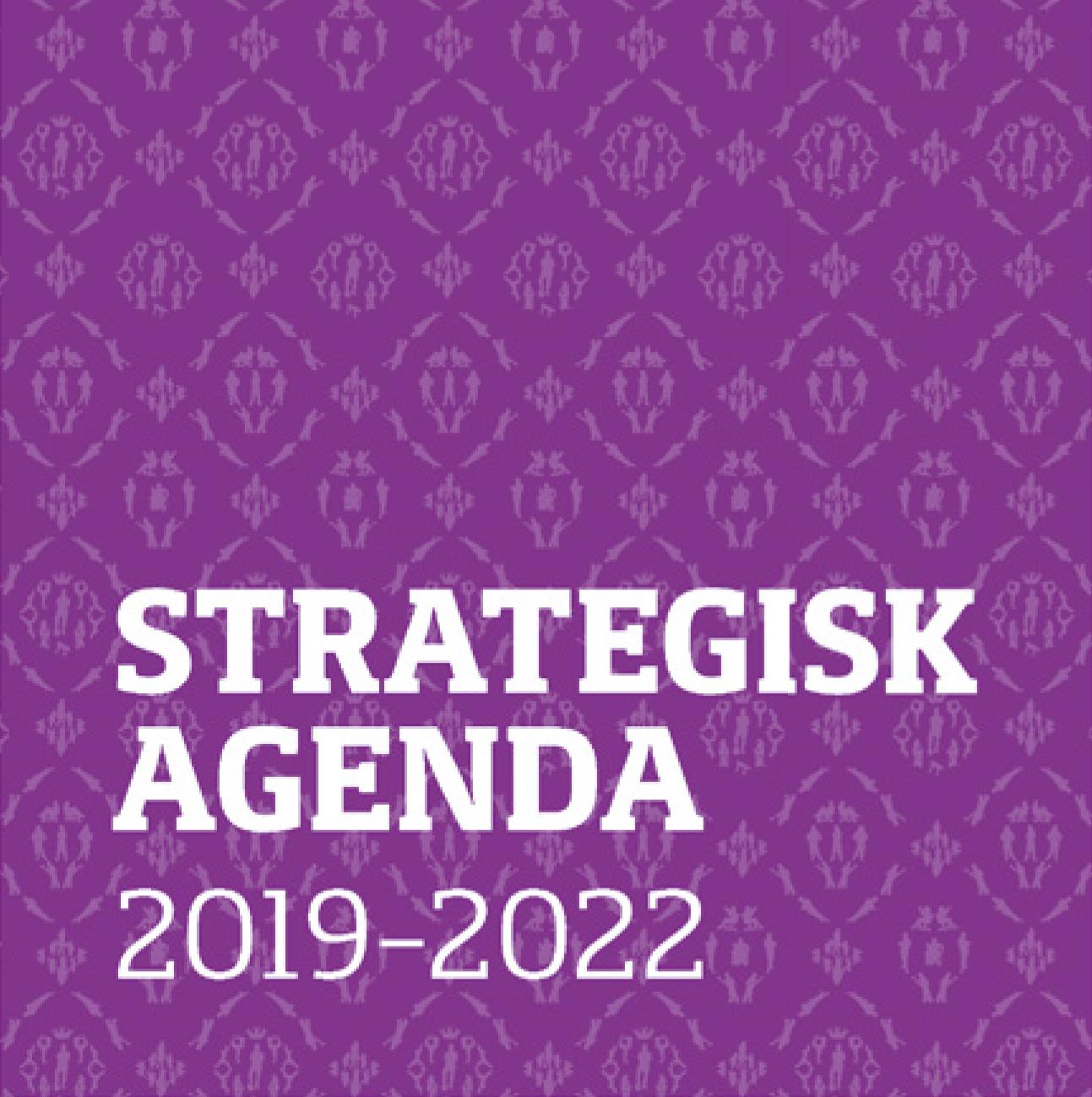 Framsida för Fortes Strategisk agenda 2019-2022