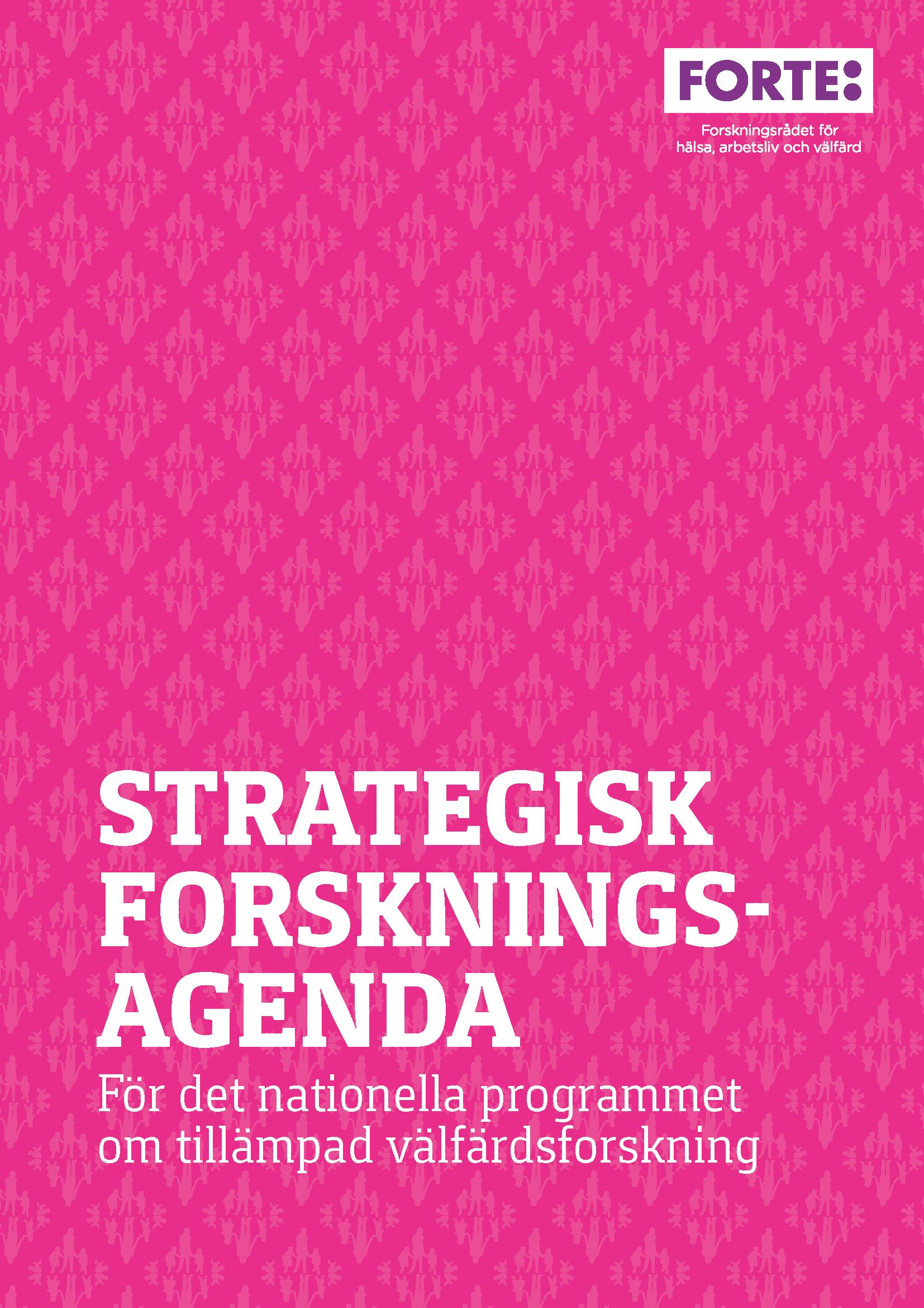 Strategisk forskningsagenda för tillämpad välfärdsforskning