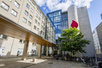 Fasaden till Fortes nya lokaler på Ringvägen 100