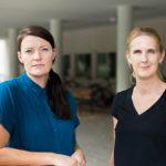 Foto på Eva Samuelsson och Jenny Cisneros Örnberg