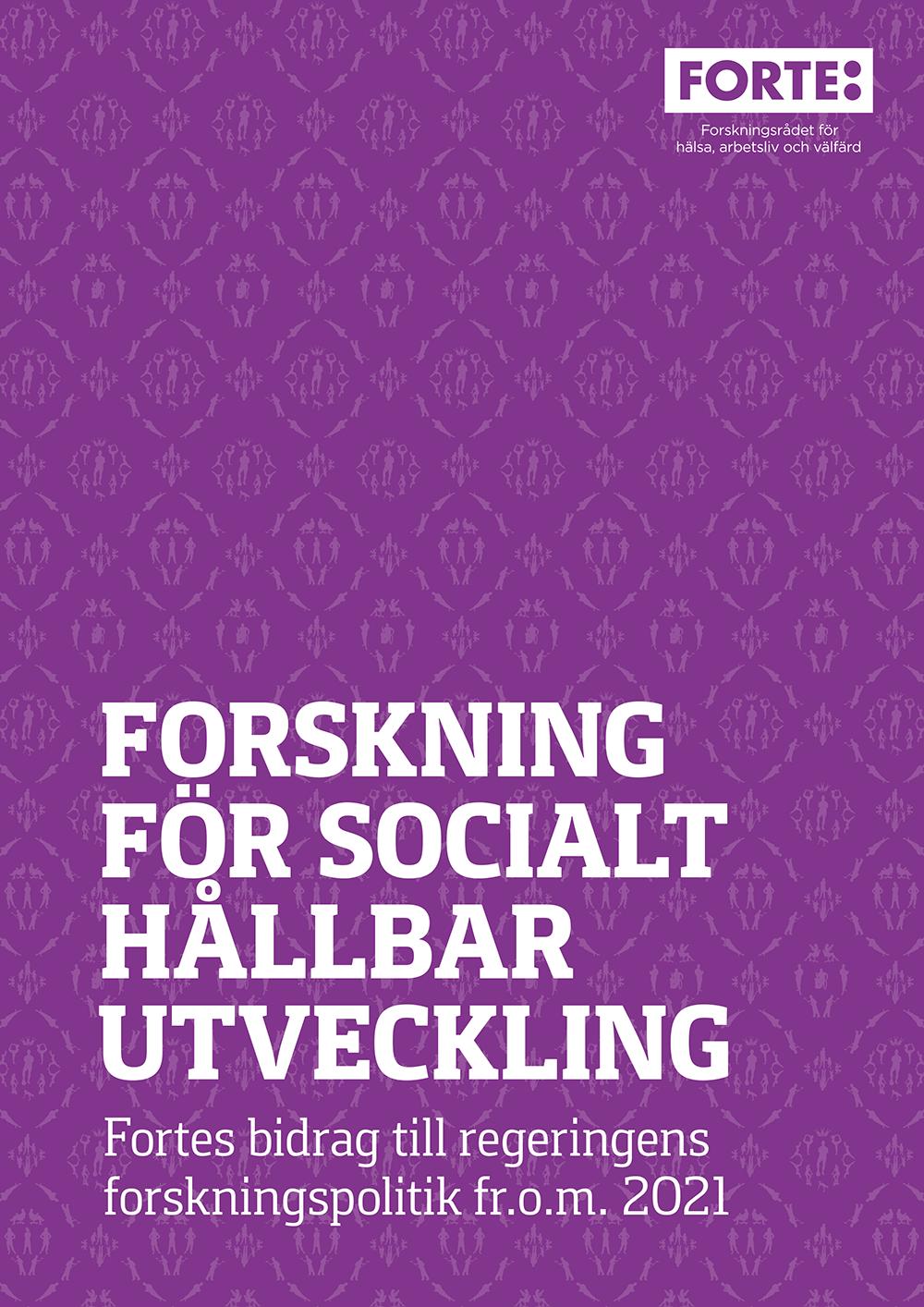 Forskning för socialt hållbar utveckling