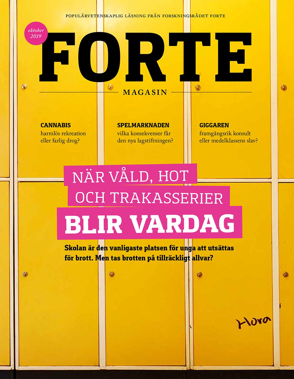 Omslag för Forte Magasin nr. 2/2019