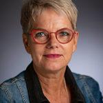 Porträttfoto på Maritha Jacobsson