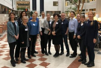 Foto på representanter för myndigheterna i Rådet för styrning med kunskap