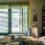 En ensam äldre man i sitt sovrum
