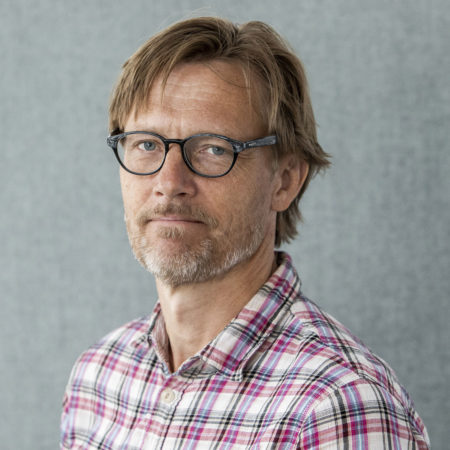 Porträttfoto på Andreas Nilsson, kommunikatör