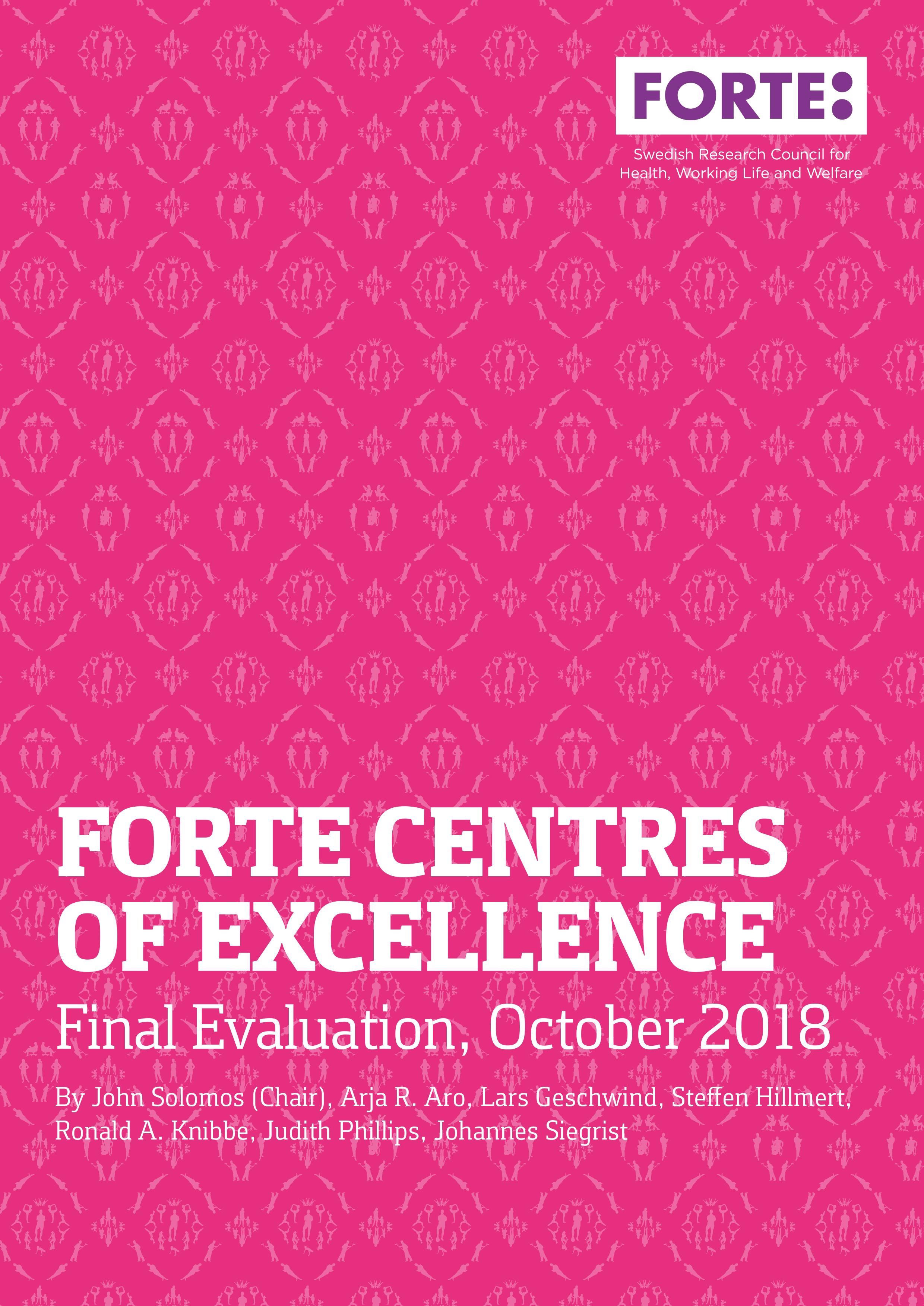 Slututvärdering av Forte-centra