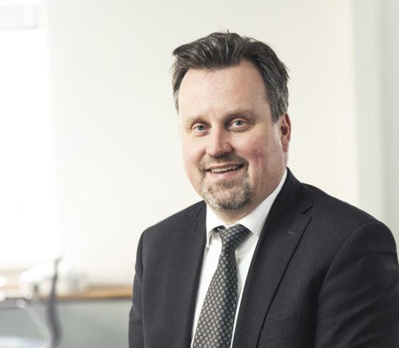 Porträttfoto på Jonas Björck, generaldirektör