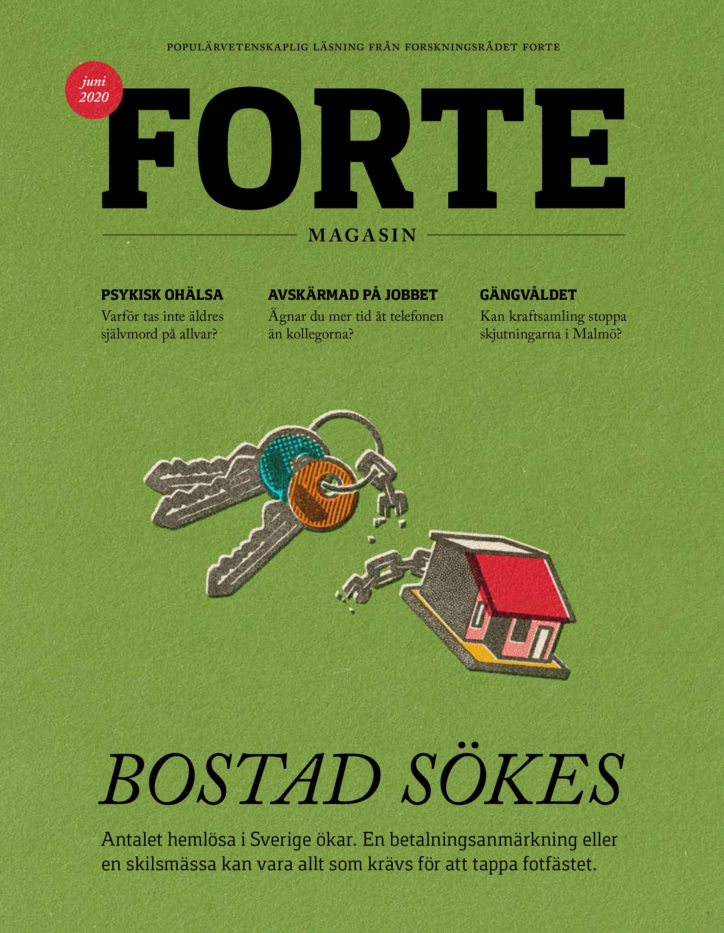 Omslag till Forte Magasin nr. 1/2020