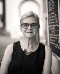 Porträttfoto på Margareta Hydén
