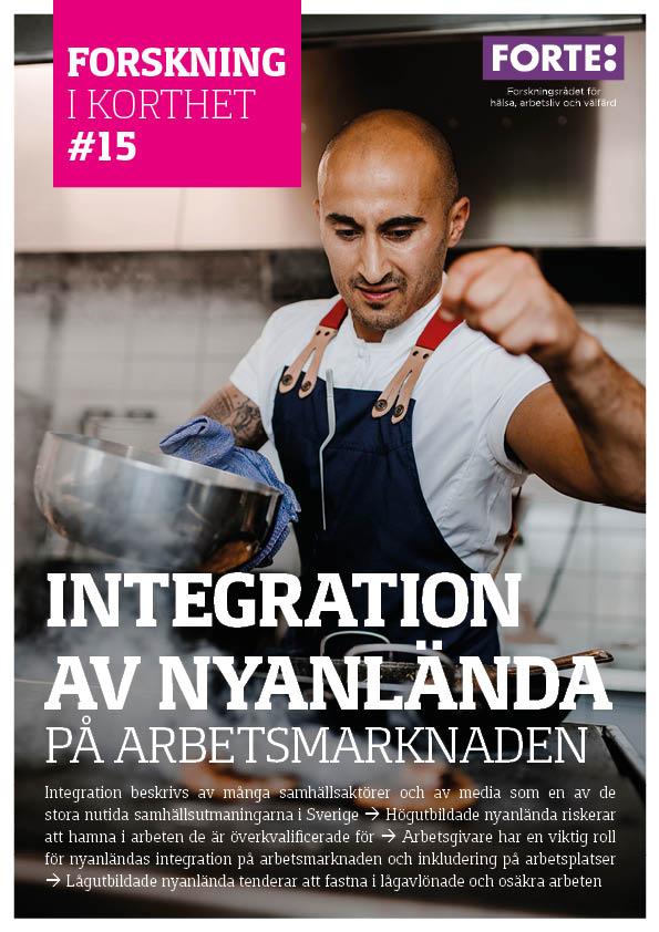 Forskning i korthet: Integration av nyanlända på arbetsmarknaden