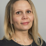 Porträttoto på Sofie Wallerström, forskningssekreterare