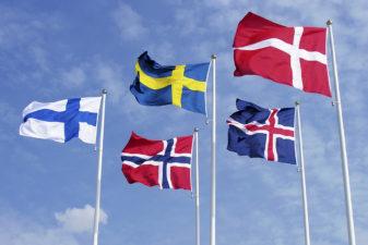 Flaggor för de nordiska länderna