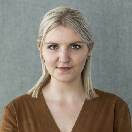 Portrait photo of Antonia Hallberg, communicator