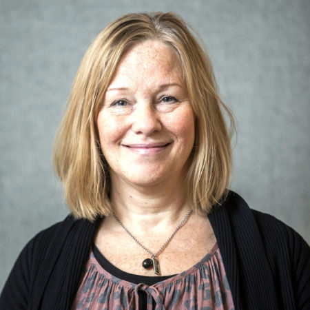 Portrait photo of Susanne Gabrielsson, research administrator