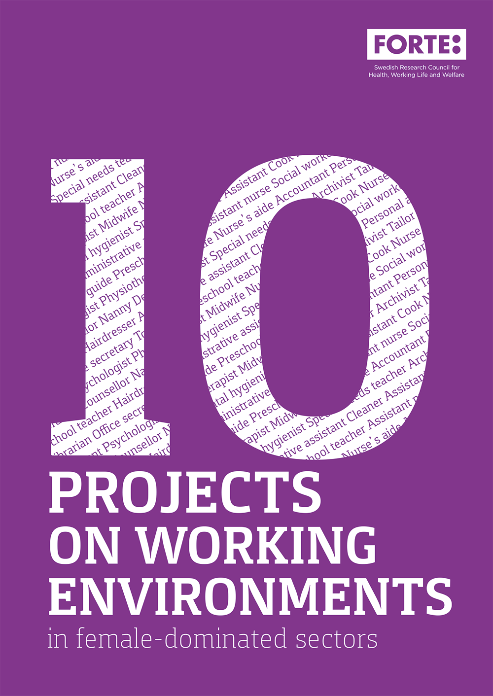 10 projects on working environments in female-dominated sectors