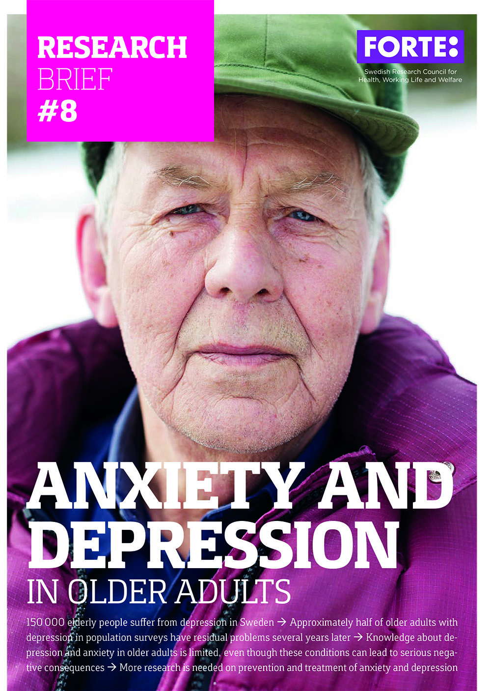 Research brief: Anxiety and depression in older adults