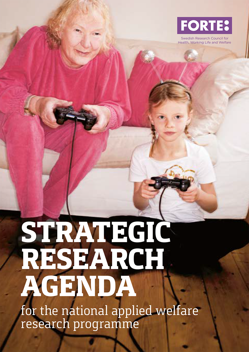 Strategic research agenda for the national applied welfare programme