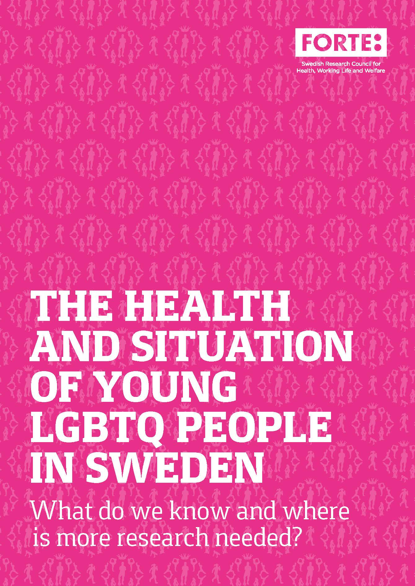 The health and situation of young LGBTQ people in Sweden – What do we know and where is more research needed?