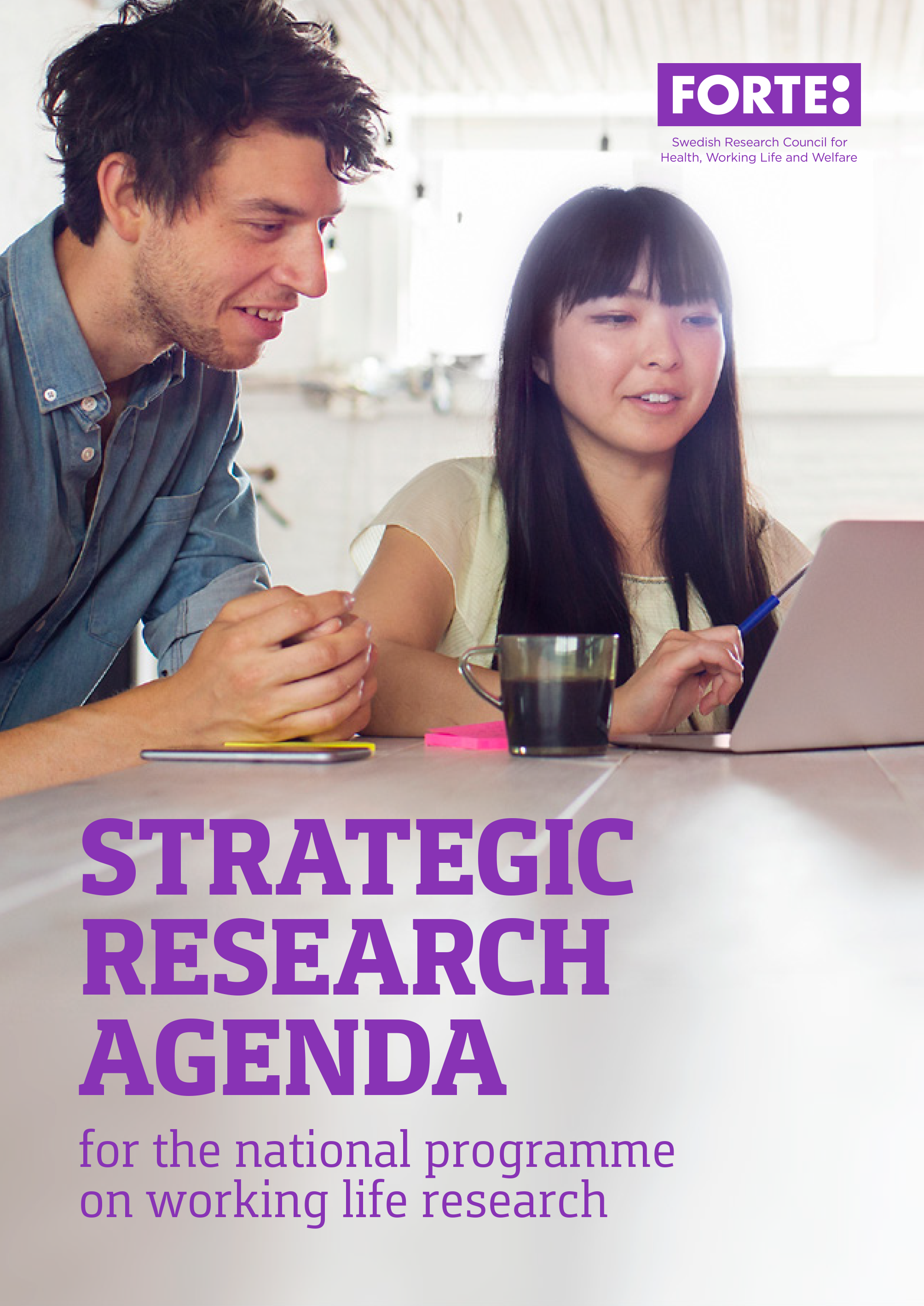 Strategic research agenda for the national programme on working life