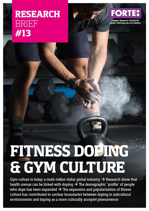 Research brief: Fitness doping and gym culture