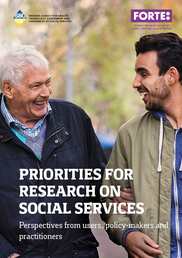 Priorities for research on social services – perspectives from users, policy-makers and practitioners