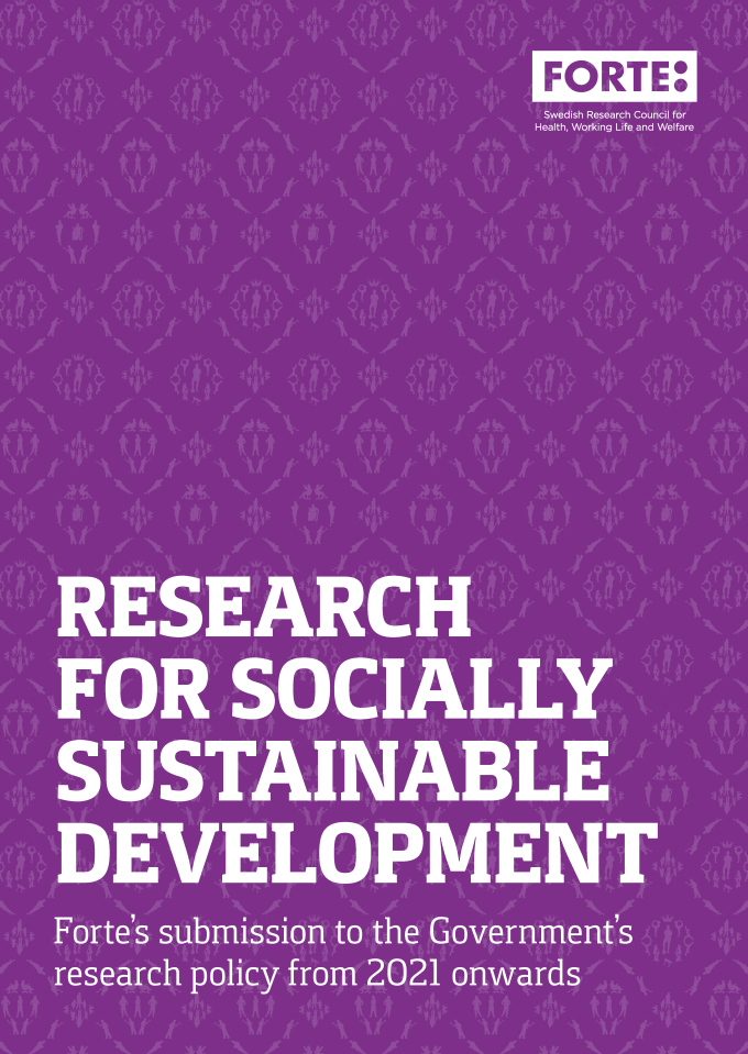 Research for socially sustainable development