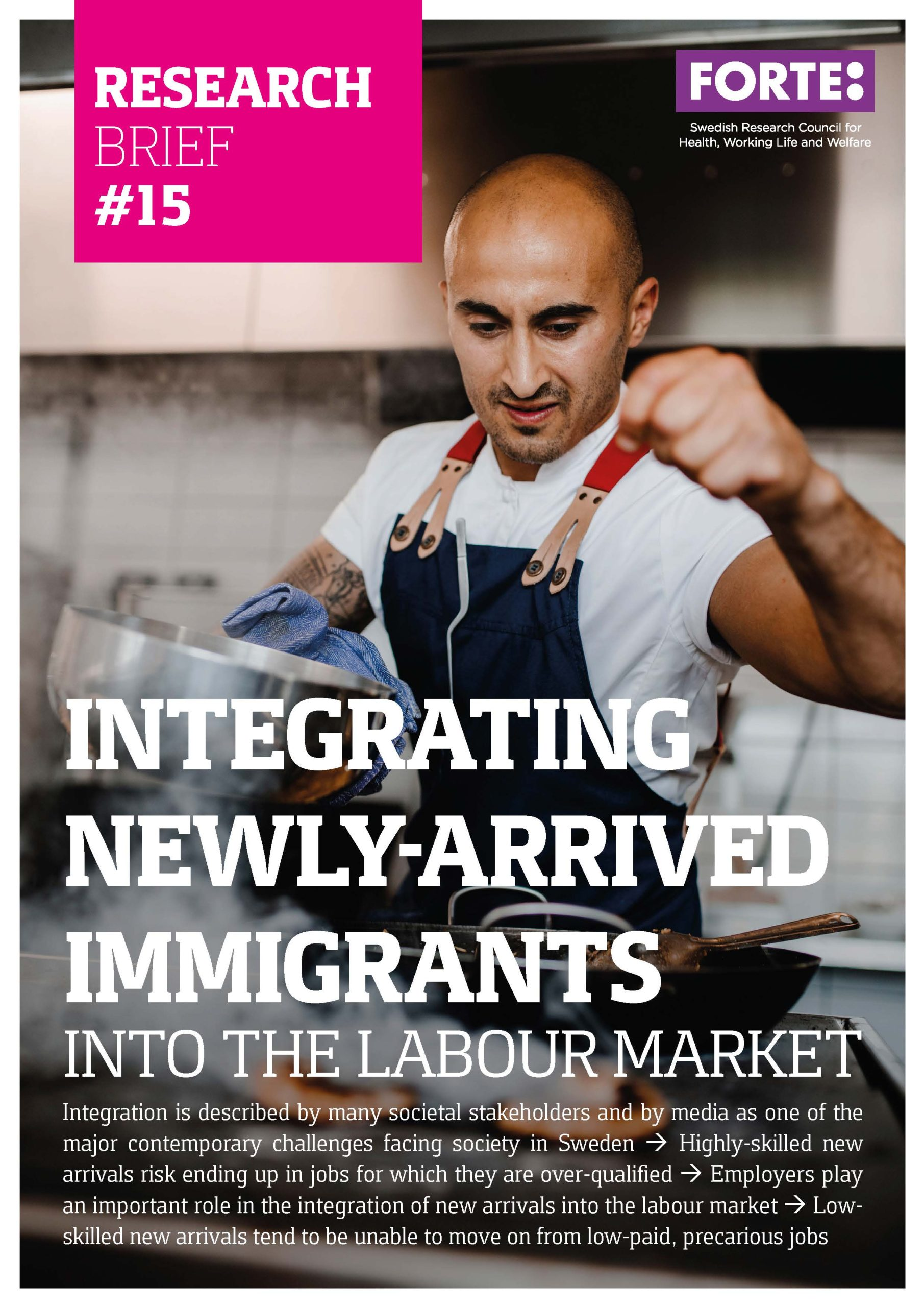 Research Brief: Integrating newly-arrived immigrants into the labour market