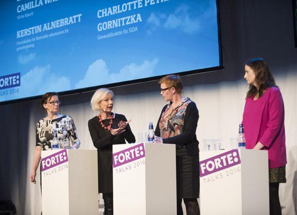 """Paneldiskussion """"I rätt riktning?"""", Forte Talks 2016"""