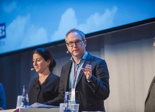 """Paneldiskussion """"Utsatta barn och unga"""", Forte Talks 2016"""