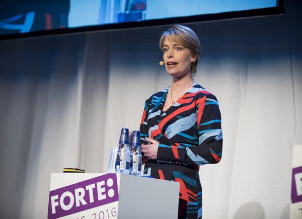 Annika Strandhäll, Forte Talks 2016