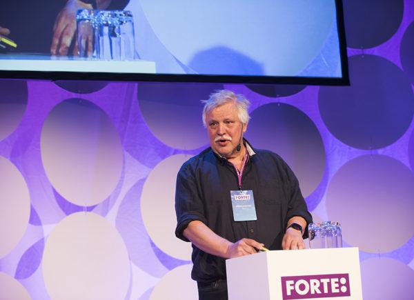 Anders Forslund presenterar på Forte Talks 2019