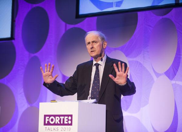 Christopher Hood presenterar på Forte Talks 2019