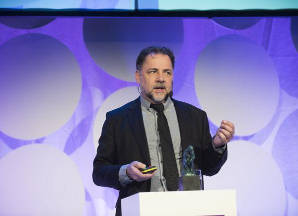 Jan O Jonsson presenterar på Forte Talks 2019