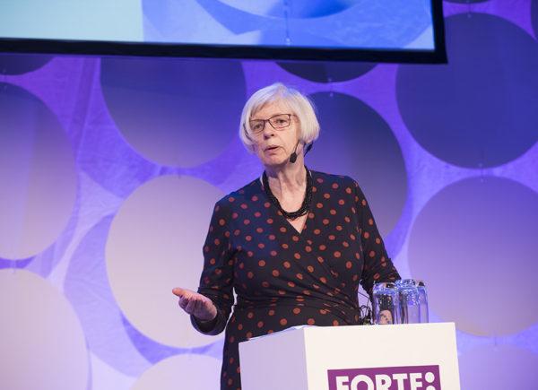 Jill Rubery presenterar på Forte Talks 2019