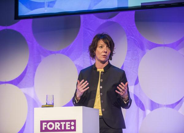 Matilda Ernkrans talar på Forte Talks 2019