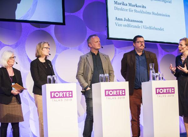 Paneldiskussion: Välfärdssystemets styrning