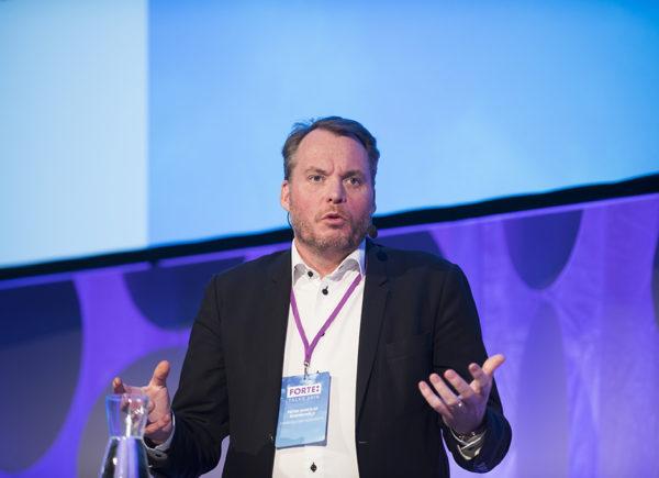 Peter Munck af Rosenschöld talar på Forte Talks 2019